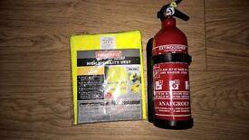 Extinguisher. Brand new. 1kg powder