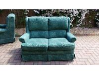 Sofa and 2 x arm chairs (free)