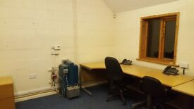 Shared flexible office space in rural location. approx 175sqf