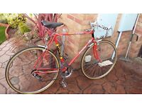 raleigh TI europa vintage racing bike from the chopper era