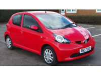2007 07 TOYOTA AYGO+ 1.0 VVT-I MOT 05/17 RED 5DR(PART EX WELCOME)***FINANCE AVAILABLE***