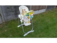 Highchair. Suitable from birth
