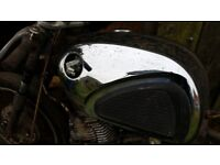 HONDA CB72 CB77 CB 72 77 DREAM HAWK FUEL PETROL GAS TANK £150 RARE