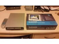 """Dvd player with 55""""tft color screen"""