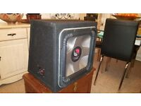 Very powerful complete car audio system for sale.