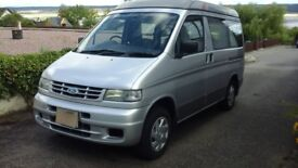 Ford Freda 4 berth camper van with elevating roof, side tent,winter cover and servjce manual.