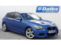 BMW 1 Series 118D M Sport 5dr (blue) 2013