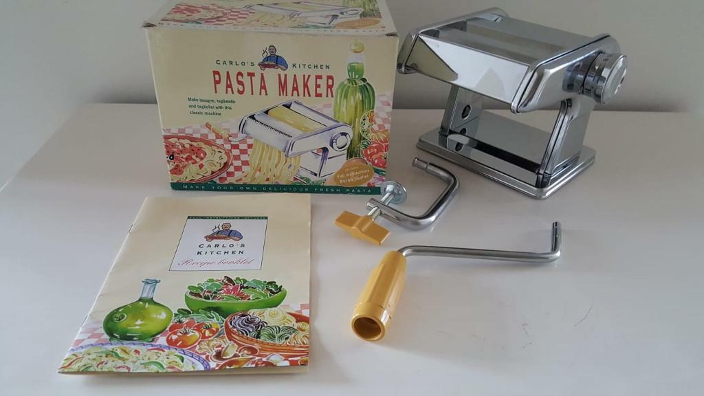 Pasta Maker Machine Carlo S Kitchen New Boxed Unused In Market Harborough Leicestershire Gumtree