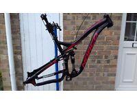 """Men's Full suspension Mountain Bike Frameset 2013 NORCO SIGHT B2 Size M (17"""")"""