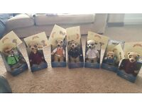 7 meerkat collection with certificates