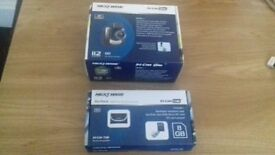 car camera in box brand new unused with bag and memory card