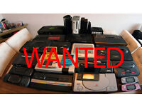 Retro video games and consoles WANTED!!!!!