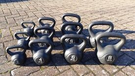 Grab yourself a bargain - kettle bells from £2