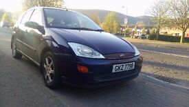 Ford Focus 2001, For Driving or Parts , Long MOT