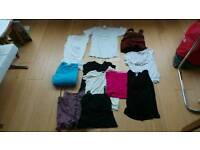 Ladies tops and skirts bundle size 10-12