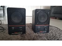 A pair of Fostex 6301B personal powered monitors. £160 for the pair or £90 each.