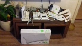 Nintendo Wii and Controllers, Wii Fit and Extras