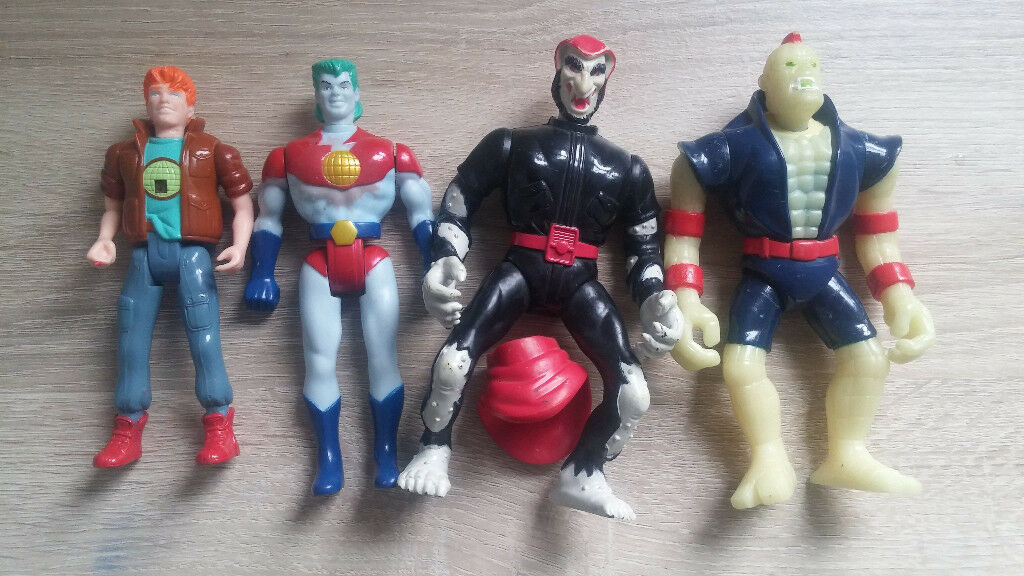 90's Captain Planet toy figures
