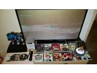 Sony PlayStation 3 Ps3 120Gb with Games,Pads and and Extras