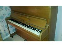 Well loved piano