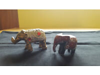 2 adorable little elephants. £1 for both