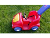 Childs ride and push along Car
