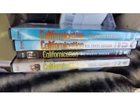 Californication Series 1 to 4 on DVD