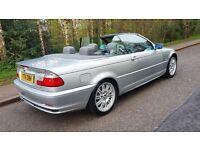 2001 BMW 330 CI CONVERTIBLE 109,000 MILES NEW MOT LOTS OF MONEY SPENT ON CAR STUNNING EXAMPLE