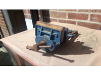 record bench vice / clamps / vices / diy / tools / metal work / wood work / plains and vices