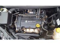 2008 VAUXHALL CORSA D 1.2 PETROL ENGINE CODE Z12XEP LOW MILES 42K