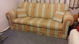 3 seater Duresta Sofa - 1988 fire safe - Going to charity 23 june