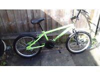 BOYS BIKE / BOYS 20 INCH WHEEL TRAX BMX BIKE