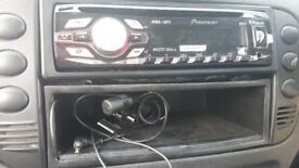 Pioneer bluetooth car stereo. Used but works perfectly
