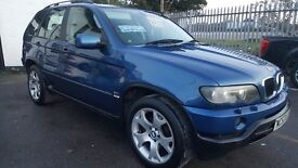 BMW X5 AUTOMATIC , 3.0 , LOW MILEAGE , DVD PLAYERS , FULL YEARS MOT ...£4395