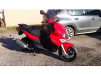 gilera 125 st runner very low mileage for the year very good condition.