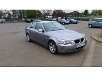 bmw 520i 04reg. 6gears manual. leather inside. good condition.