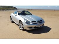 Mercedes-Benz, SLK, Hardtop Convertible, 2005, with Many Extras