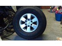 Toyota Hilux Alloy Wheels and Tyres