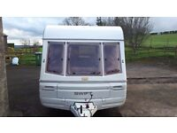 1990 Swift Challenger 440/4 (4 Berth) Caravan Complete with Multiple Accessories