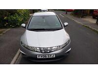 Honda Civic, 2.2 I-CDTi Diesel, 138 BHP, 5 Door, Excellent MPG, Low Insurance