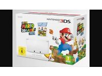 Brand new in box Nintendo 3DS XL limited edition, with built in Mario land