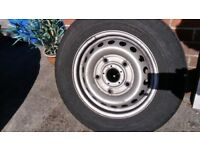 Ford transit latest shape wheel, no tyres.215/65/15. 2J 15x60