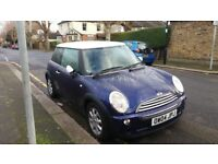 2004 MINI COOPER 1598 cc, 3 DOORS Hatchback CHEAP CAR,DRIVE AWAY ROAD TAX AND INSURANCE