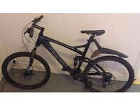 Ghost AMR Lector 7700 Full Suspension Carbon Frame Mountain Bike