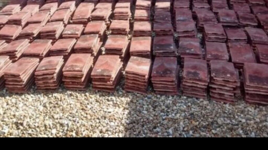 Roof Tiles Redland 30p Each In Sompting West Sussex