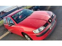 Seat ibiza with mot for 7 months 1 owner