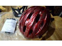 UNUSED BOXED RALEIGH CYCLE HELMET