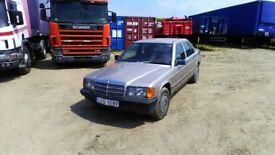 Mercedes 190d left hand drive LHD DIESEL 4 CYLINDER DRIVE VERY GOOD