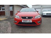 SEAT Leon FR Eco TSI, £30 tax, Technology Pack, FSSH & genuine 16k miles