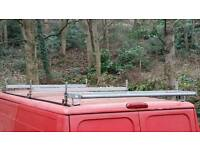 Ducato relay boxer roof rack bars with ladder roller
